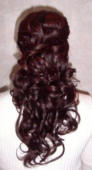 hair idea? it will really depend on the dress