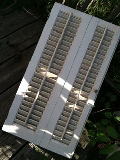 Salvaged Shutters by gigiandessie on Etsy, $19.00