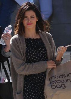 Jenna Dewan Tatum: Leaving a Photoshoot at Milk Studios -01