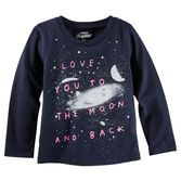 With lots of love and a glowing night sky, this one will send her over the moon!