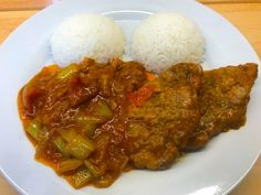 Pork after gardening Food Inspiration, Grains, Pork, Food And Drink, Rice, Beef, Cooking, Kale Stir Fry, Meat
