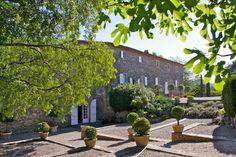Mas Le Rey Provence, Location Saisonnière, Rey, Sidewalk, Patio, Prestige, Outdoor Decor, Totalement, Plants
