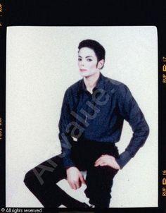 Arno Bani, Michael Jackson in Studio No 1, photoshoot 1999