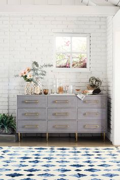 Slide View: Moroccan Tile Rug This two-toned rug was made to mimic the intricate tiles of Moroccan artwork and to bring that same opulence into your home. anthropologie affiliate link bohemian home decor ideas Decoration Inspiration, Interior Inspiration, Decor Ideas, Diy Home Decor, Room Decor, Interior Decorating, Interior Design, Diy Interior, Home And Deco
