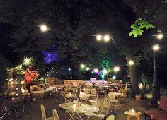 1000 m² de terrasse sous les arbres > Pavillon Puebla  Adresse : Parc des Buttes Chaumont, Avenue Darcel, 75019 Paris
