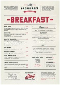 breakfast menu design - Google Search                                                                                                                                                                                 More