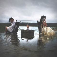 """Nicolas Bruno is a photographer who composes surreal scenes based on his experiences with sleep paralysis, a rare phenomenon that renders an individual immobilized in a hallucinatory state between dreams and awakening. In an interview with VICE, Bruno describes sleep paralysis as an experience of """"purgatory,"""" a floating, liminal state that, for him, is inhabited..."""