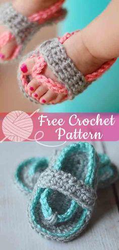 Trendy Ideas Crochet Slippers For Girls Free Pattern Flip Flops Boys Sewing Patterns, Baby Patterns, Knitting Patterns Free, Free Pattern, Crochet Patterns, Crochet Ideas, Scarf Patterns, Pattern Sewing, Summer Patterns