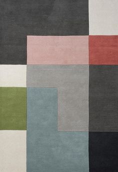 Woven Outlet | Modern Rugs | Tetris Rugs | Multi
