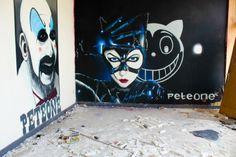 Studente fotografie ontdekt fantastische graffiti… Ronse - Peteone