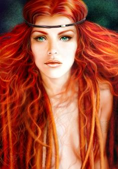 Celtic Queen Boudicca by C. Griffin