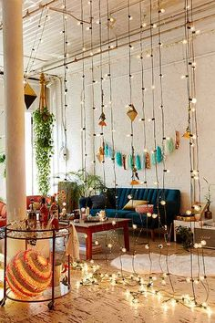 Novelty + String Lighting - Urban Outfitters