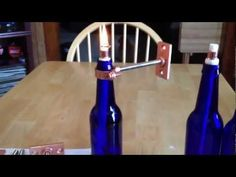 Make a tiki torch out of a bottle - YouTube
