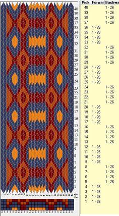 26 tarjetas,4 colores, secuencias 4F-4B // sed_365 diseñado en GTT༺❁