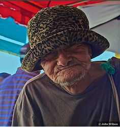 A beggar from the streets of Matagalpa, Nicaragua