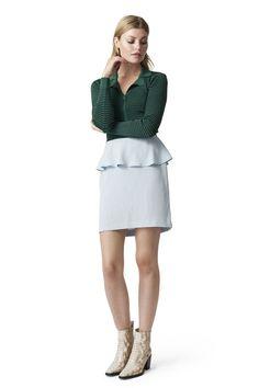 kombinasjonen grønt og lyseblått!  Clark Skirt, Sterling Blue