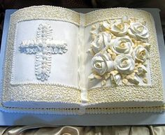 First Communion Bible Cake - Specialty Cakes 2 Collection