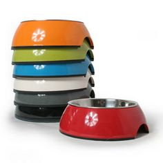 Melamine Dog Bowl. Looking for a simple yet striking new bowl for your pup? Then the Melamine Dog Bowl may be just right for you two!