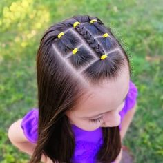 Cool Easy Hairstyles, Kids Braided Hairstyles, Baby Girl Hairstyles, Toddler Hairstyles, Braids For Kids, My Princess, Hair Today, Kind Mode, Natural Hair Styles
