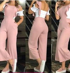 This is adorable 😍 Look Fashion, Fashion Pants, Hijab Fashion, Fashion Dresses, Fashion Design, Classy Outfits, Chic Outfits, Trendy Outfits, Summer Outfits