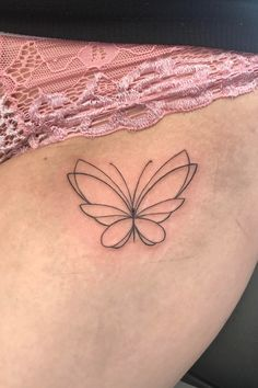 Dainty butterfly tattoo Tattoo Artists, Butterfly, Tattoos, Instagram, Tatuajes, Tattoo, Butterflies, Tattos, Tattoo Designs