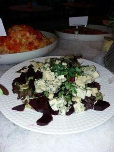 Red beet&bluecheese salad