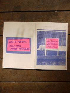 Image of Give Us a Sign - Catalogue Library risograph book