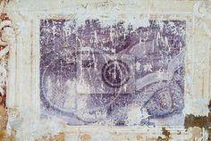 Fototapete Fresko, Hintergrund mit Textur der alten Mauer