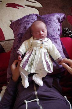Ravelry: Eloise Baby Sweater pattern by Tamara Kelly
