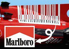 フェラーリのバーコード