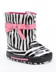 Zebra Rainboots from Hibbett Sports