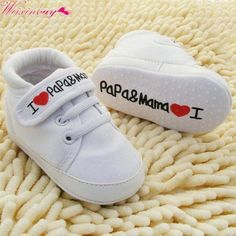 Toddler Newborn Shoes Baby Infant Kids Boy Girl Sneaker 0-18Months Price: 6.99$ Shipping: Free Baby Girl Shoes, Girls Shoes, Shoes Women, Newborn Shoes, Newborn Babies, Walker Shoes, Baby Shop Online, Baby Sneakers, Canvas Sneakers