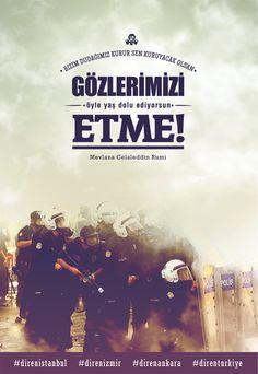 Pek Güzel Şeyler: Posterlerle Gezi Parkı Direnişi