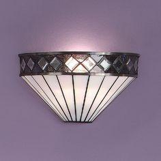 Interiors 1900 FARGO Tiffany Art Deco wall washer wall light