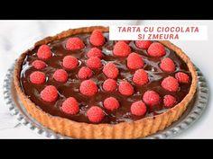 Tartă cu ciocolată și zmeură - Mihai Gateste