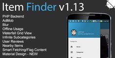 Item Finder MarketPlace Full Android Application v1.13 by MGAppcelerator  Someone is trying to pretend in behalf of us. We are not affiliated with anybody. If someone is trying to contact you, please report it to us. We have already filed a legal action regarding to that person. Please contact us here