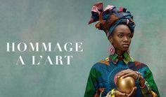 HOMMAGE A L'ART – AFRYKA na FUTU.PL Vlisco to marka posiadająca sieć butików produkująca ubrania dla kobiet z całego świata, które chcą być wyraziste, nie boją się wyzwań i kochają wzory oraz kolory inspirowane estetyką dalekich krajów.