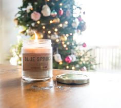 soy candle tutorial + printable labels!