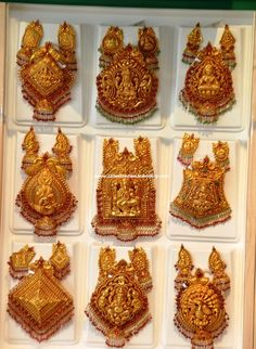 Latest Collection of Indian Gold and Diamond Jewellery from Traditional to Contemporary Designs. Indian Gold Jewellery Design, Gold Temple Jewellery, Indian Wedding Jewelry, Indian Jewelry, Gold Jewelry, Jewellery Designs, Bridal Jewellery, Cartier Jewelry, Fashion Jewellery