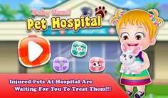 Help Baby Hazel and her friends to take their injured pets to the hospital and give them medical treatment. https://play.google.com/store/apps/details?id=air.org.axisentertainment.BabyHazelPetHospital