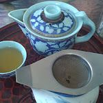 Fabulous way of serving tea in a Chinese tearoom