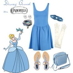 Disney Bound on a Budget: Cinderella