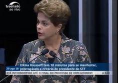 Senadores avaliam que discurso de Dilma mostra que ela 'jogou a toalha'