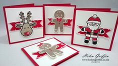 Cookie Cutter Mini 3x3 Christmas Cards