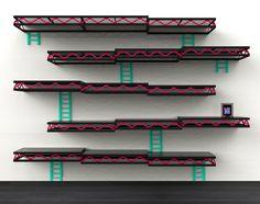 Donkey Kong shelves by Igor Chak.