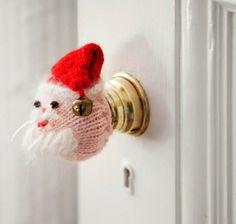 Santa door knob cover