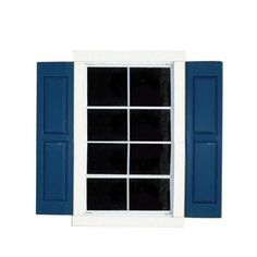 Handy Home Products Small Window Shutters 2-Pack