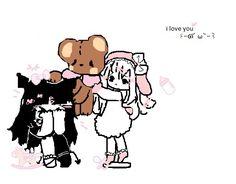 Emo Art, Goth Art, Cute Art Styles, Cartoon Art Styles, Aesthetic Art, Aesthetic Anime, Arte Emo, Character Art, Character Design