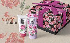 Holiday Pink Roses - PNG Watercolor Illustration #Illustration #Roses #Pink #Holiday