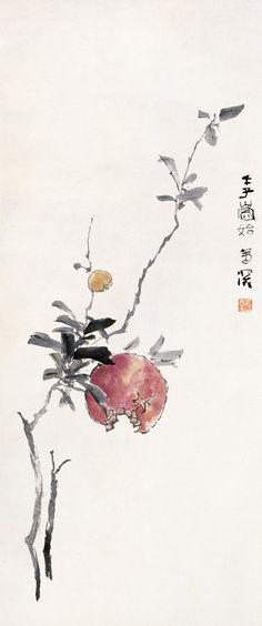 [转载]杨善深的花鸟画作品赏析